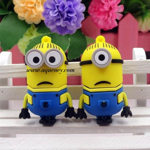 3D Cartoon USB Despicable me usb flash drive from Shenzhen Factory