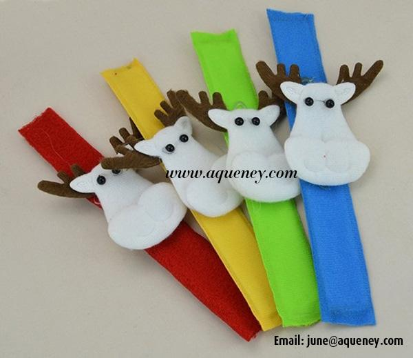 Merry Christmas! Custom Slap Bracelet, Wristband for Decoration