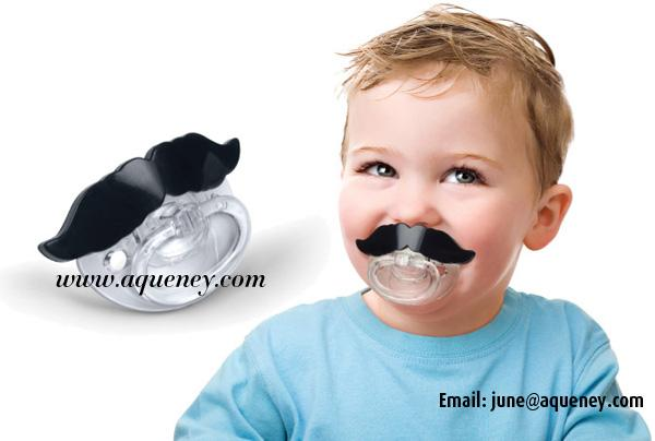Funny baby Pacifiers,Cute Teeth Pacifier Baby Soother,Fake Teat For Baby Suck