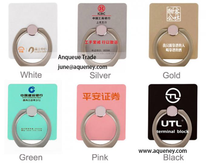 360 Universal OEM IRing mobile phone holder, Different color IRing phone stand can be choosed