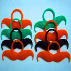 China New design party promotion sale party fake beard moustache for drink bottle company