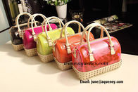Wholesale fashion vogue silicone handbag, Candy jelly bag