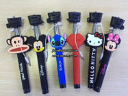 China Wholesale Cartoon Wired Selfie Stick Monopod, without bluetooth design company
