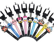 China Wholesale cartoon selfie stick, cartoon monopod for IPhone, Samsung and any smart phone factory