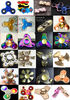 China NEW design high quality brass hand type fidget spinner Rotation Time Long Anti Stress company