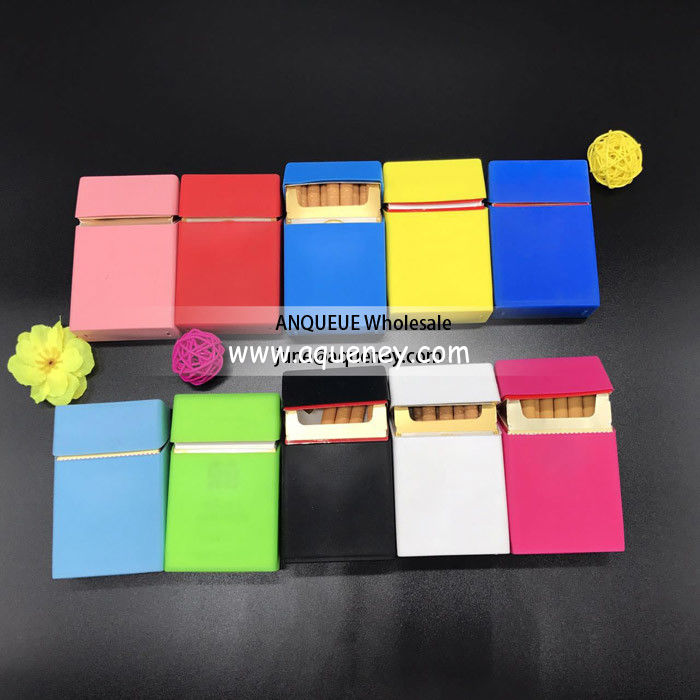 NEW Custom Design Silicone Cigarette Case Covers, fashion Cigarette Case