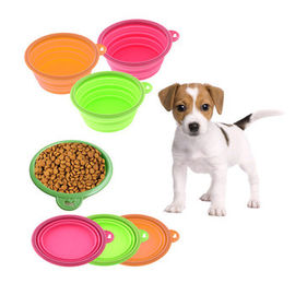 Collapsible Silicone Bowl / Microwave Food Container for Pet