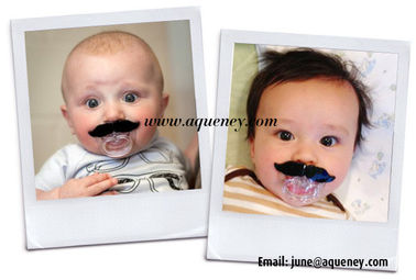 Baby Pacifiers, Brand New Moustache, Hot Lips, Goatee