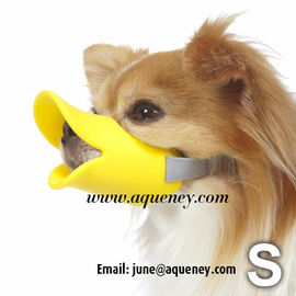 China Duckface Dog Muzzle Adjustable Duck Bill Dog Muzzle Available in 3 Colours factory