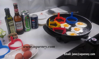 China Kitchen Use Fried eggs boiled eggs,steamed custard DIY mold omelette circle factory