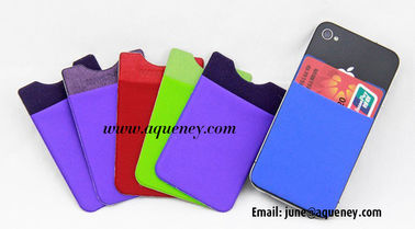 China New Style Lycra Smart wallet with 3M Sticker factory