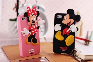 Hot selling Silicone Mickey & Minnie mobile phone case cover for Disney