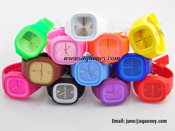 Band new Cheap Stylish Jelly Silicone Watch with wholesale price