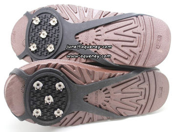 China NEW Skidproof Snow Shoes Cover For Climbing Snow and Ice Silicone Antiskid Shoe Covers factory
