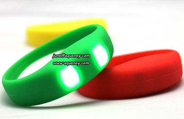 China Fashion party decoration led motion activated led wristband - LED wristband factory