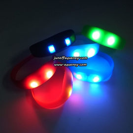 LOW MOQ LED Wristband Pulse Motion Activated with factory price