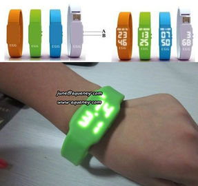Christmas Gift The Fashionable LED Watch USB Flash Drives with factory price