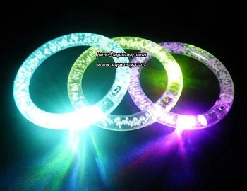 Christmas decorate LED flashing LED wristband with factory low down price