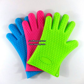 Durable kitchen five fingers silicone glove LOW MOQ and cheap price
