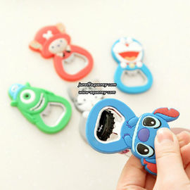 China Custom bottle opener, promotional silicone bottle opener factory