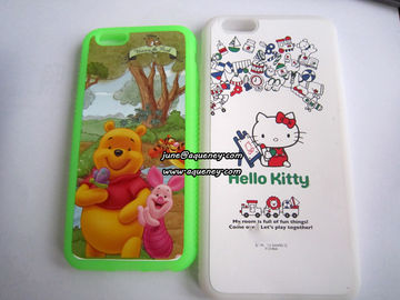 "China Full color printing silicone case 4.7"" and 5.5"" silicone mobile phone case cover factory"