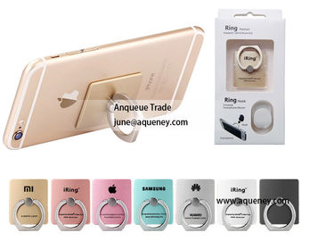 China IRing mobile phone stand holder,finger holder for mobile phone, tablet PC,10 different color factory