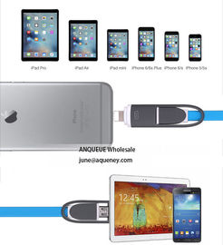 Retractable 2 in 1 Multifunctional Universal type USB Charger Cable