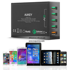 NEW Quick Charge 3.0 AUKEY 5 Port USB Charger for Samsung Galaxy S7/S6/Edge, LG G5, iPhone, Nexus 6P & More