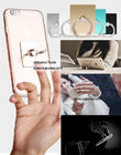 Factory direct sale 10 different color 360 degree ratation iring phone holder metal