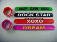 Wholesale Color ful  Silicone Stylus Touch Pen Silicone Slap Bracelet Band